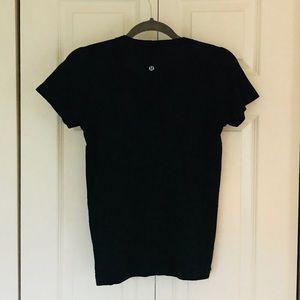 Lulu Lemon Run Swiftly T-shirt in Black